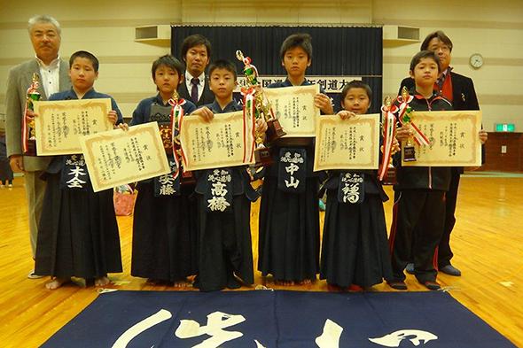 平成25年昇龍旗争奪全国選抜少年剣道大会 個人戦入賞者