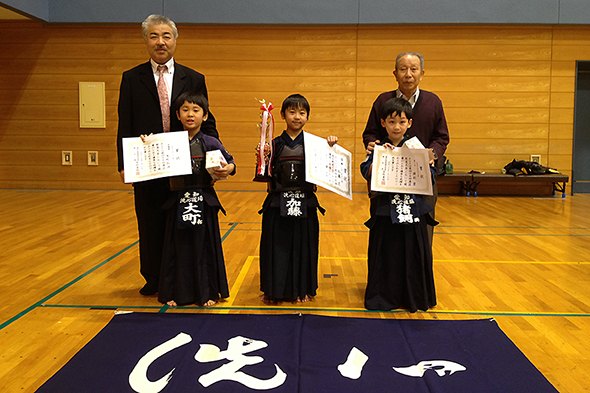 小学2年生以下の部 入賞者