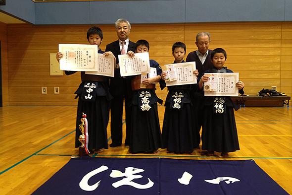 小学3・4年生の部 入賞者
