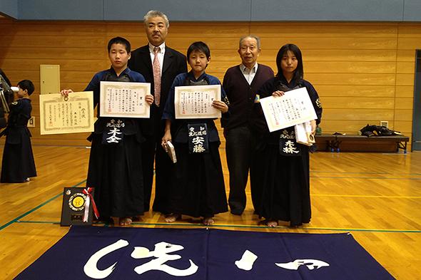 小学5・6年生の部 入賞者