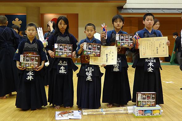 第20回記念NTTグループ東海少年剣道大会 洗心道場Aチーム