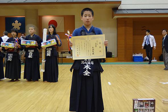 第20回記念NTTグループ東海少年剣道大会 個人戦 準優勝 木全悠誠
