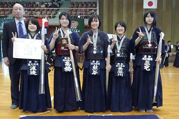 第20回愛知県武道館少年剣道大会・中学生の部