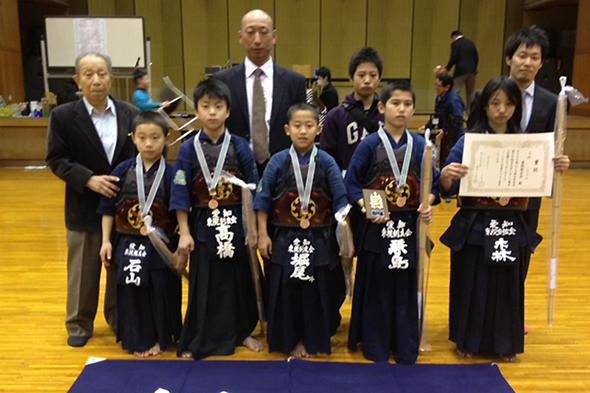第20回愛知県武道館少年剣道大会・小学生の部 第三位 東院剣友会