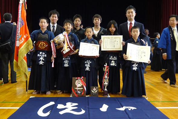 犬山お城祭り第18回白帝杯少年剣道交流大会