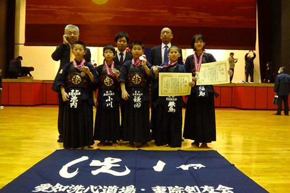 第54回全国選抜少年剣道錬成大会 東院剣友会