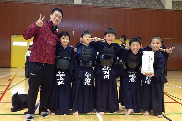 広川少年剣道合同稽古会リーグ戦 低学年の部