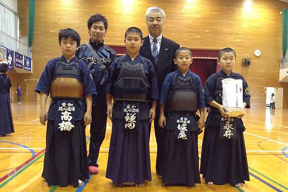 広川少年剣道合同稽古会リーグ戦 高学年の部