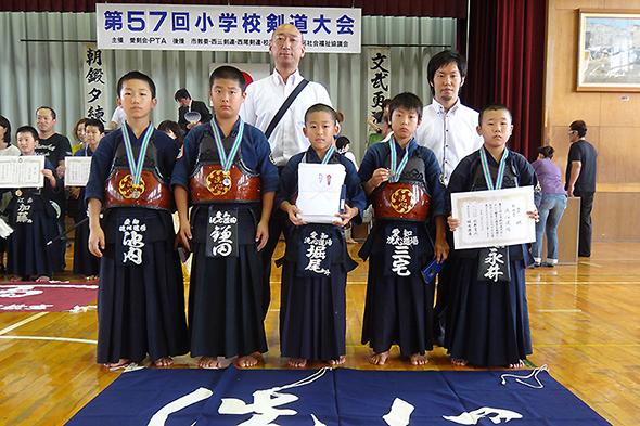 第57回小学校剣道大会 洗心道場チーム