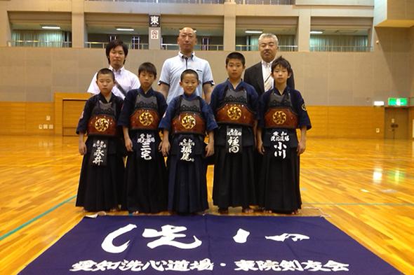 第8回全日本都道府県対抗少年剣道優勝大会 愛知県予選会 出場選手