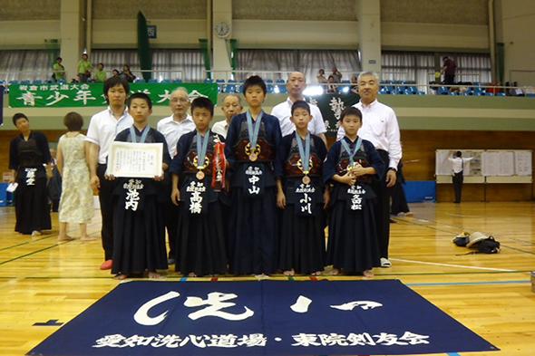第18回岩倉市青少年剣道大会 東院剣友会チーム
