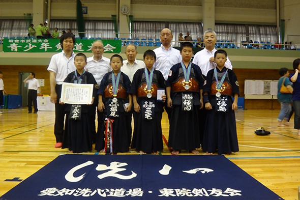 第18回岩倉市青少年剣道大会 洗心道場チーム
