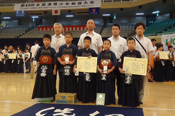 第48回全国道場少年剣道大会・小学生