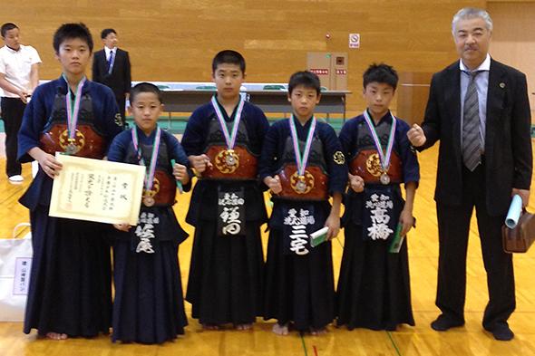 第2回山手錬成旗争奪少年剣道大会 小学生高学年の部 洗心道場
