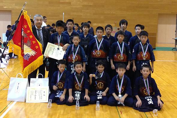 第2回山手錬成旗争奪少年剣道大会