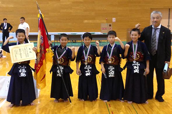 第2回山手錬成旗争奪少年剣道大会 小学生低学年の部 洗心道場