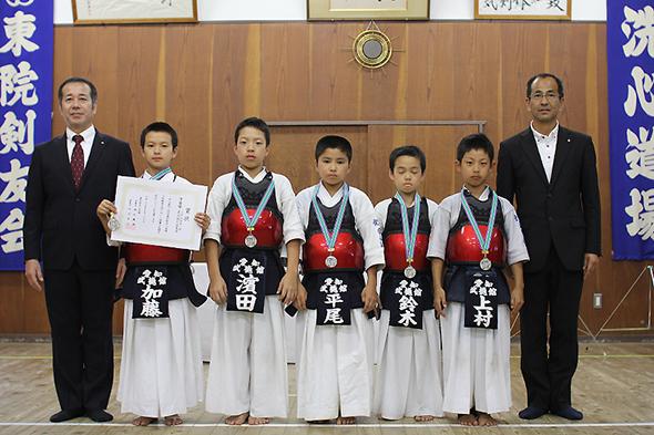 第44回東別院洗心道場少年剣道大会 小学生の部 武徳館剣道教室