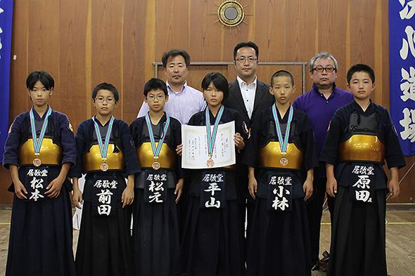 第44回東別院洗心道場少年剣道大会 小学生の部 東レ居敬堂