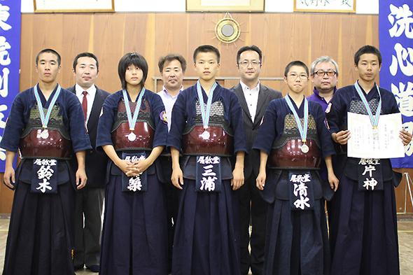第44回東別院洗心道場少年剣道大会 中学生の部 東レ居敬堂