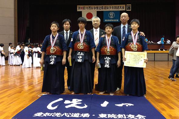 第16回寺西杯争奪近県選抜少年剣道大会 中学生の部