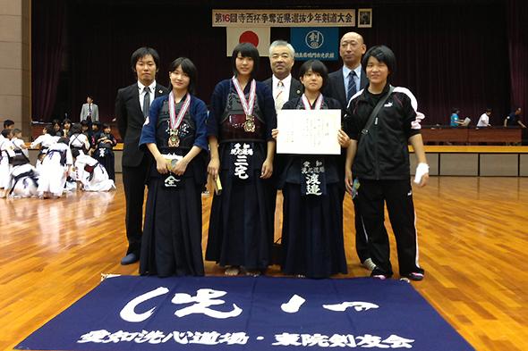 第16回寺西杯争奪近県選抜少年剣道大会 中学生女子の部