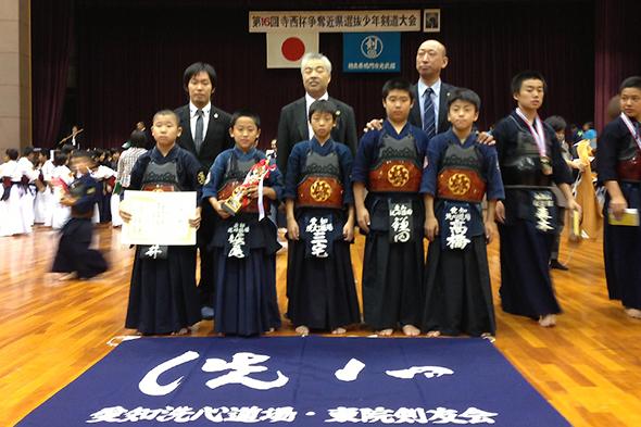 第16回寺西杯争奪近県選抜少年剣道大会 小学生の部