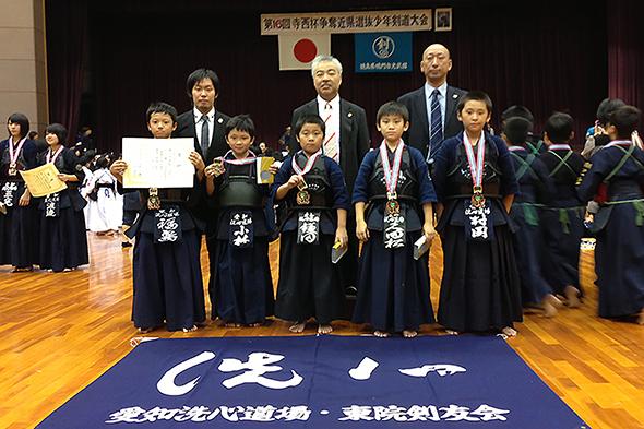 第16回寺西杯争奪近県選抜少年剣道大会 小学生低学年の部