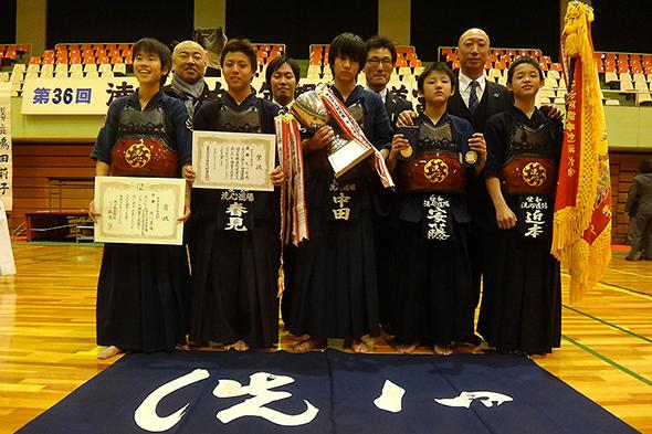 第36回凌雲館幼少年親善剣道富山大会 中学生の部 洗心道場