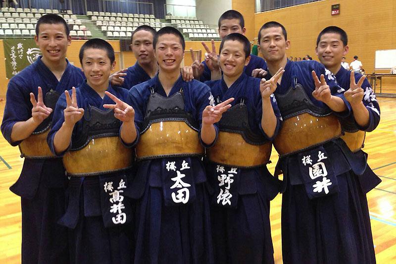第61回東海高等学校総合体育大会剣道大会 優勝 桜丘高等学校