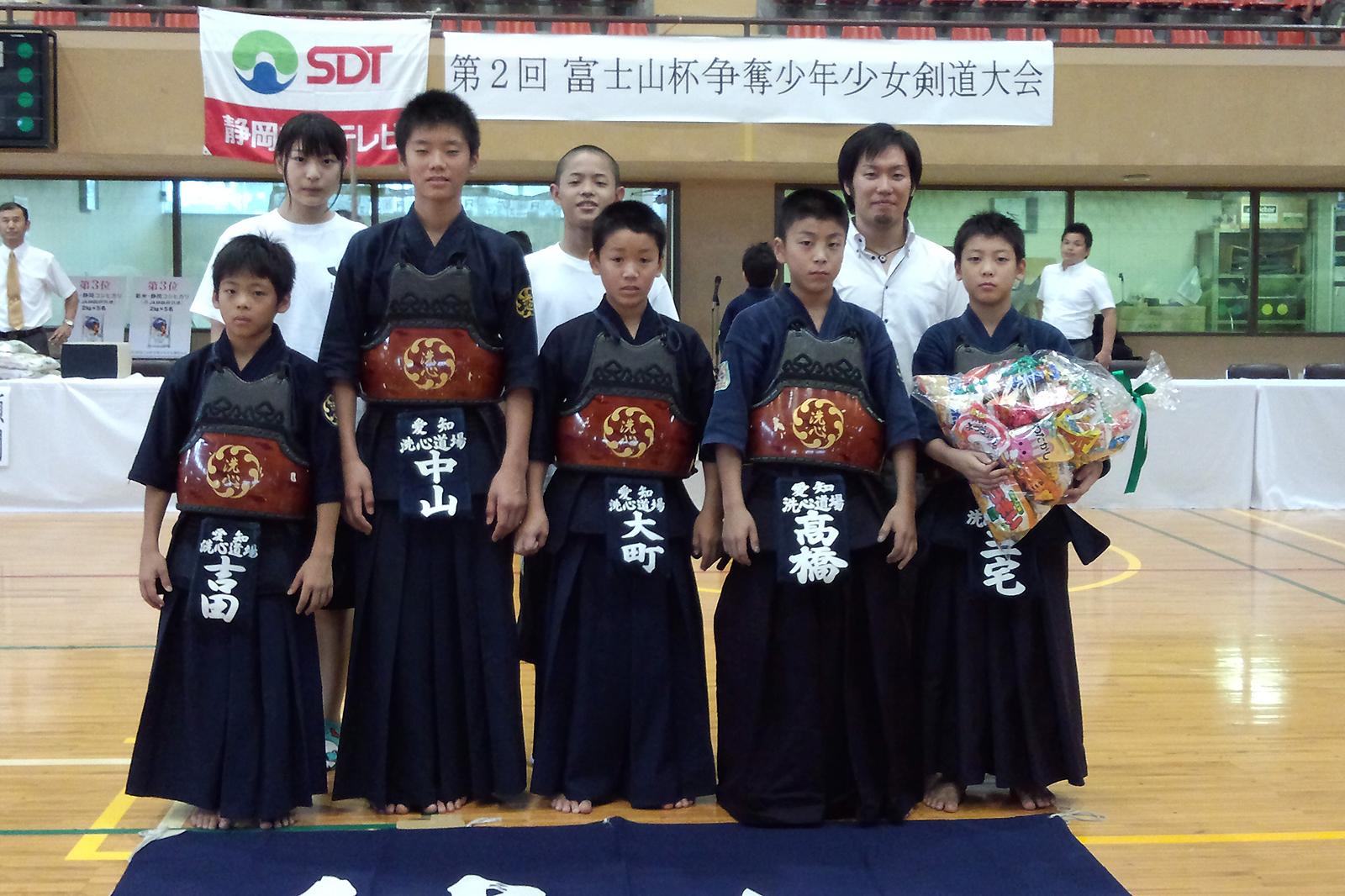 第2回富士山杯争奪少年少女剣道大会