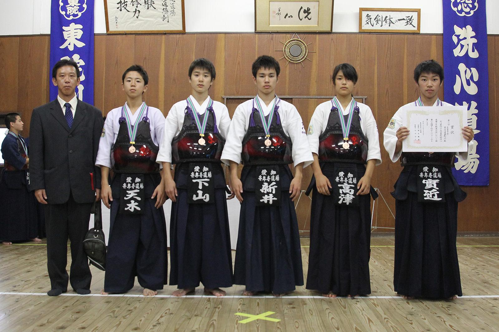 第45回東別院洗心道場少年剣道大会