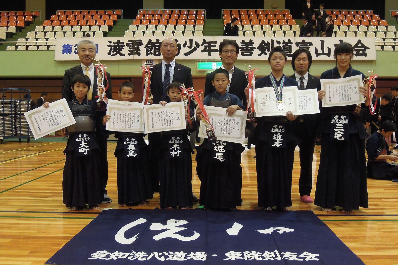 第37回凌雲館幼少年親善剣道富山大会