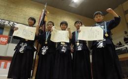 嘉章旗争奪第32回武徳館少年剣道大会
