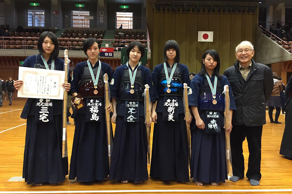 第22回愛知県武道館少年剣道大会