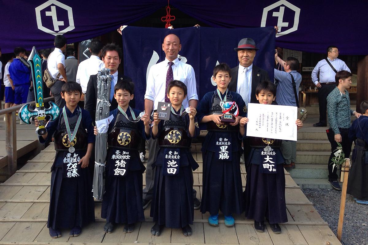 第43回砥鹿神社例祭奉納少年少女剣道大会
