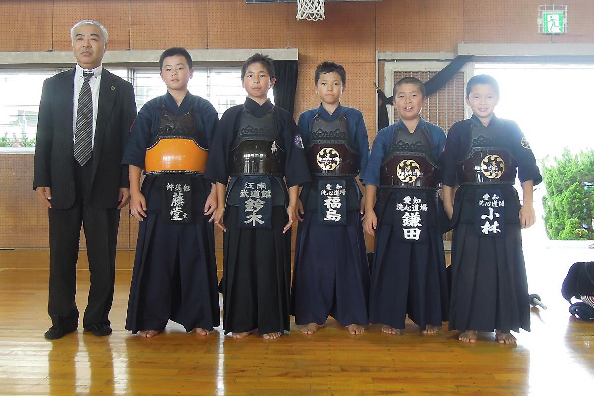 愛知県代表チーム