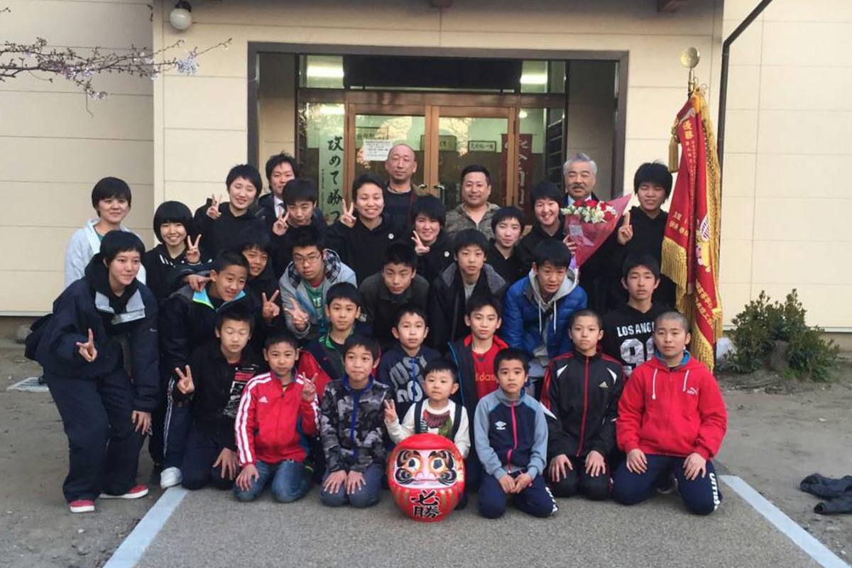 東奥義塾高等学校第25回全国高等学校剣道選抜大会優勝の凱旋