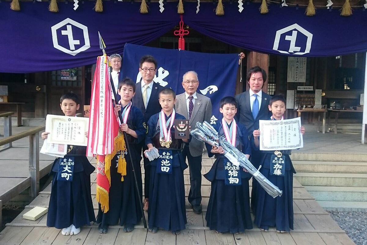 第44回砥鹿神社少年少女剣道大会