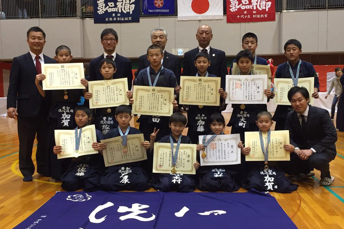 嘉章旗争奪第34回武徳館少年剣道大会