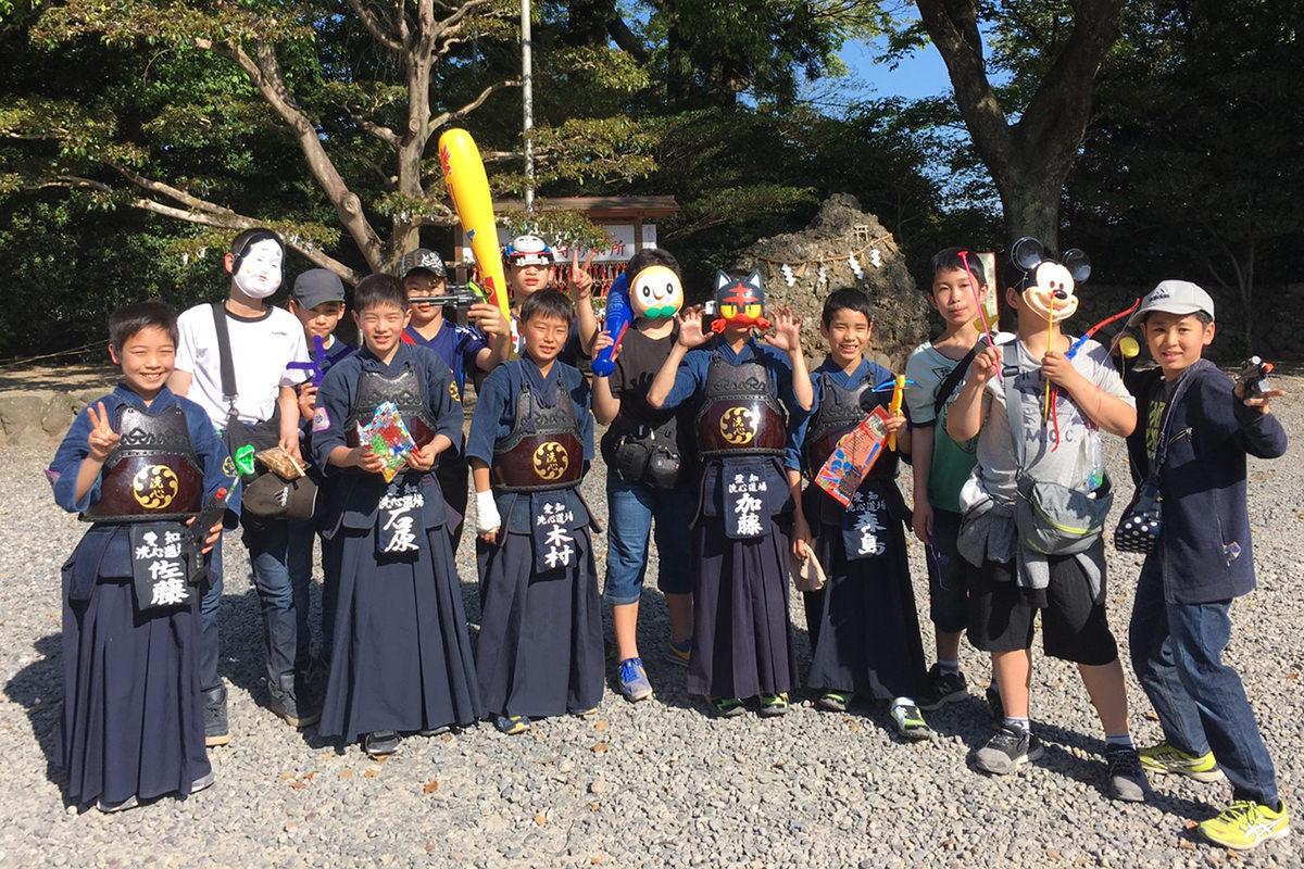 第45回砥鹿神社例祭奉納少年少女剣道大会