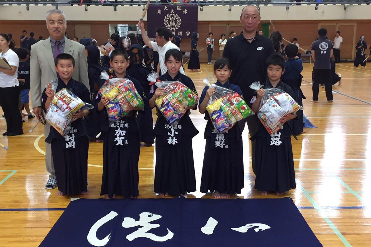 穴師剣道会稽古会トーナメント戦