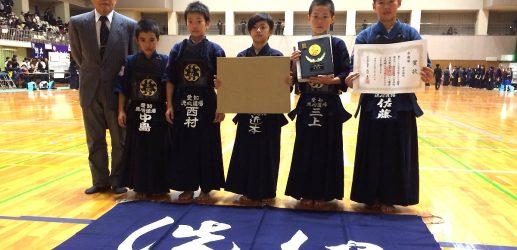 名古屋まつり協賛小中学校対抗剣道大会