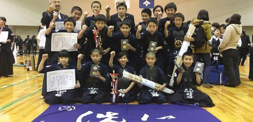 須恵剣友会創立五十周年記念少年剣道大会