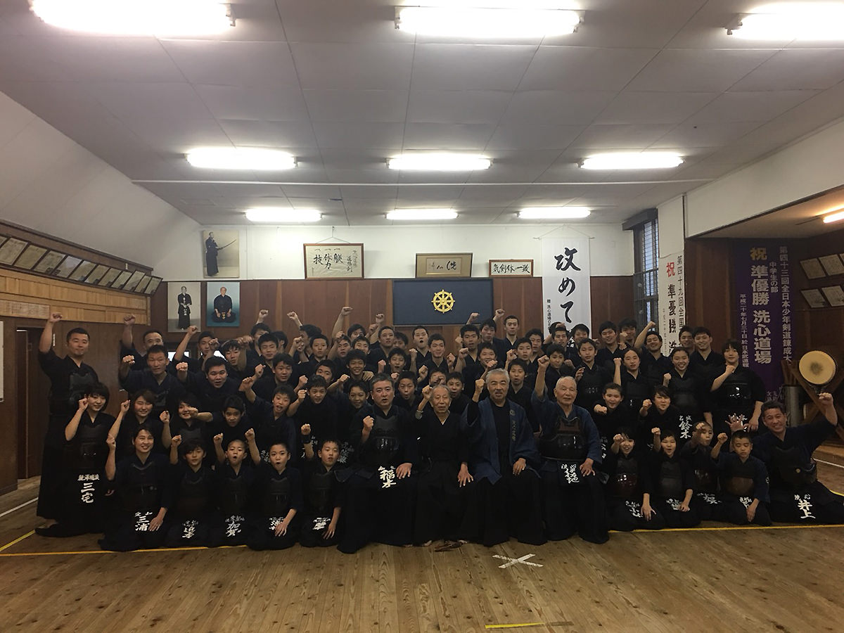 2017年 洗心道場OB・OG稽古会