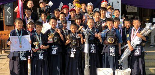 第46回砥鹿神社例祭奉納少年少女剣道大会