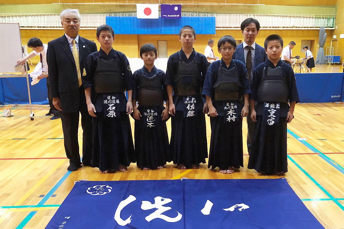 第13回全日本都道府県対抗少年剣道大会・愛知県予選会