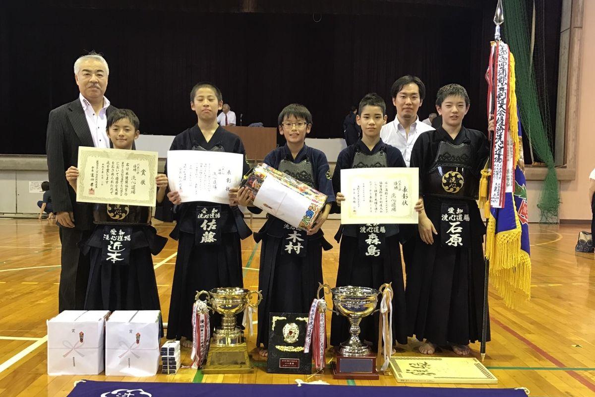 第45回蒲郡少年剣道大会