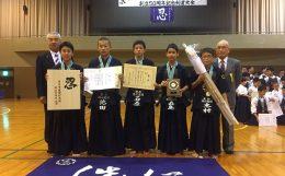 下山文圭先生追悼 斉年寺道場剣志会創立50周年記念大会