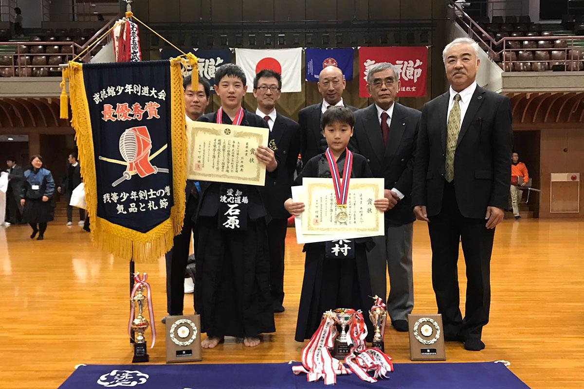 嘉章旗争奪第36回武徳館少年剣道大会