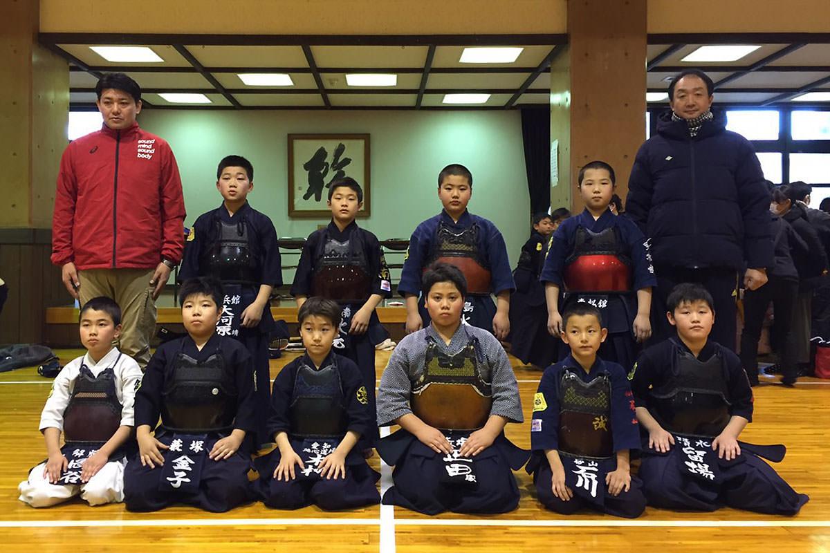 第10回からっ風錬成会 小学生低学年の部 紅白戦代表選手